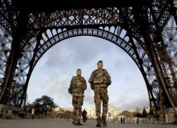 French military responds to Paris terror attacks