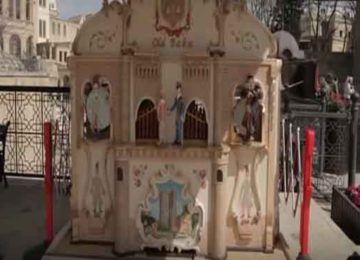 Azerbaijan Street Organ in Old Baku (5)