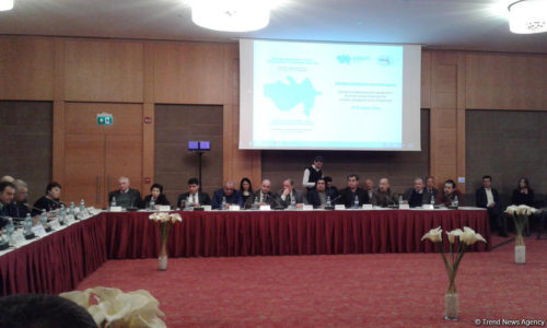 Conference on Nagorno-Karabakh kicks off in Baku