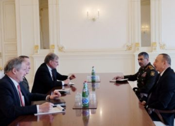 BAKU MEETING OF U.S., RUSSIAN MILITARY CHIEFS