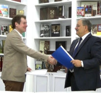 Baku Network, Russia's Lev Gumilev Center ink co-op deal (PHOTO)