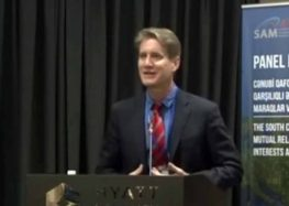 """""""The South Caucasus in the International Arena"""" – Matthew Bryza (Video)"""