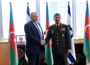 Azerbaijan's Defense Minister Visits Israel, as Bilateral Ties Grow Stronger