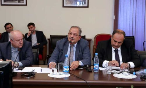 SAM hosted the delegation of the Institute for Political and International Studies of Iran MFA