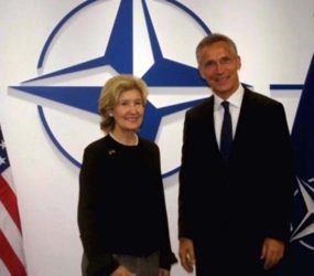 New Ambassador: US Remains United Behind NATO