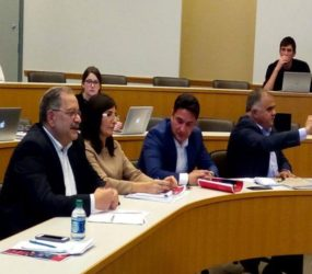In October, a group of experts from the Baku International Policy and Security Network – visited the United States via the International Visitor Leadership Program (IVLP) On Demand program.