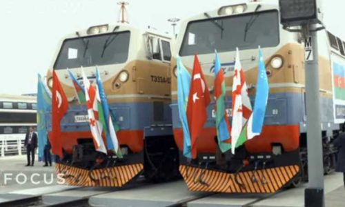 Baku-Tbilisi-Kars (BTK) railway project (Video)