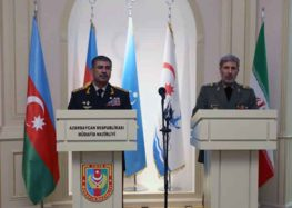 Azerbaijan Seeks to Enhance Military Cooperation With Iran