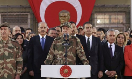 TURKEY'S SYRIA POLICY: LEAVE WELL ALONE
