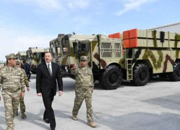 Azerbaijan acquires new missiles in escalating arms race with Armenia