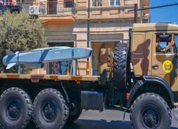Azerbaijan Displays Turkish Cruise Missile in Baku Military Parade