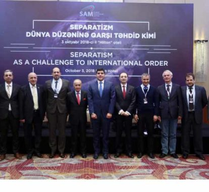 """SAM hosted the International Conference on """"Separatism as a Challenge to International Order"""""""