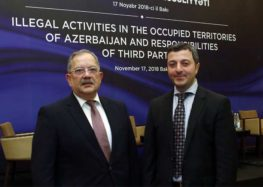 SAM kicked off the international conference on illegal activities in Azerbaijan's occupied territories