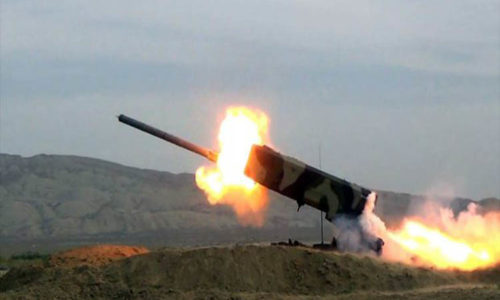 The Army Corps conducted live-fire exercises – VIDEO