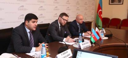 SAM hosted a roundtable meeting with the delegation of the Poland MFA