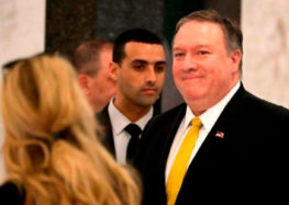Pompeo says God may have sent Trump to save Israel from Iran