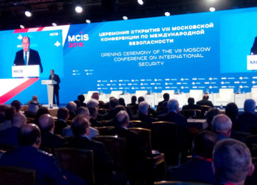 Head of Baku Network attends Int'l Security Conference in Moscow (PHOTO)