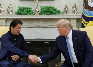 Pakistan PM Khan Hails New Relationship After Trump Meeting