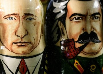 Putin Welcomes Stalin Back to the Pantheon