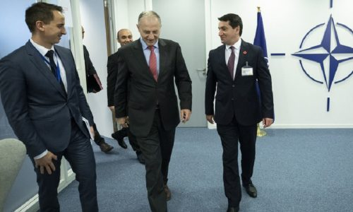 Advisor to the President of the Republic of Azerbaijan visits NATO