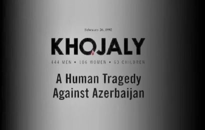 Khojaly massacre is a crime against all mankind