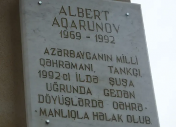 Remembering Albert Agarunov, the Jewish hero of Azerbaijan