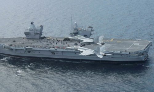 The HMS Queen Elizabeth's F-35B Fighter Jets are Ready for Combat Strike Operations