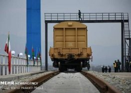Iran, Azerbaijan emphasize developing transit coop.