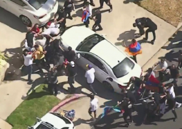 Police Investigate Hate Crimes at Armenian Demonstration in Brentwood