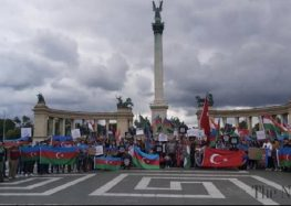 Protests held against Armenian border attacks in Europe