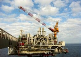 Liebherr Bags First Offshore Crane Order in Azerbaijan