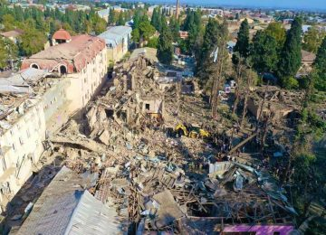 Azerbaijani civilians are under Armenian military attacks: Time to live up to 'never again'
