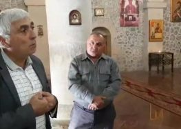 Udins praying for liberation of occupied Caucasian Albanian churches in Azerbaijan [VIDEO]