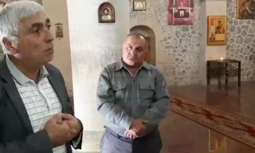 Udins praying for liberation of occupied Caucasian Albanian churches in Azerbaijan (VIDEO)