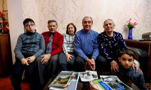 Azerbaijanis who fled war look to return home, if it exists