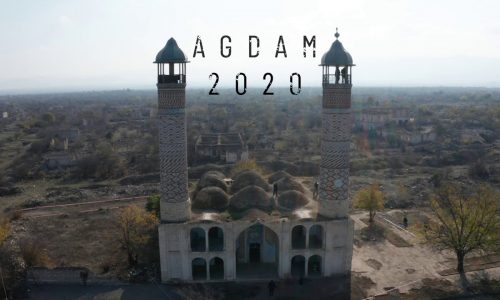 Agdam (Agdam) after 27 years of Armenian occupation. Агдам после 27 лет армянской окупации. 2020