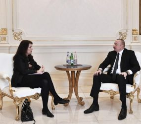 President Aliyev receives delegation led by OSCE Chairman-in-Office